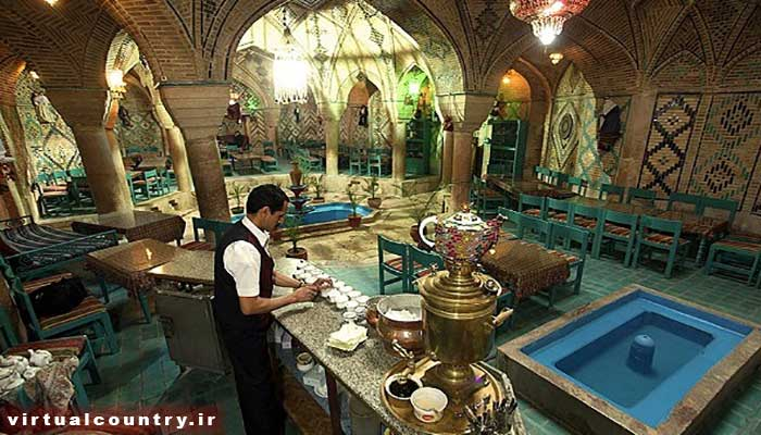 Vakil Traditional Tea House or Bath,iran tourism