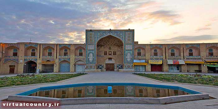 Ganj Ali Khan Mosque,iran tourism