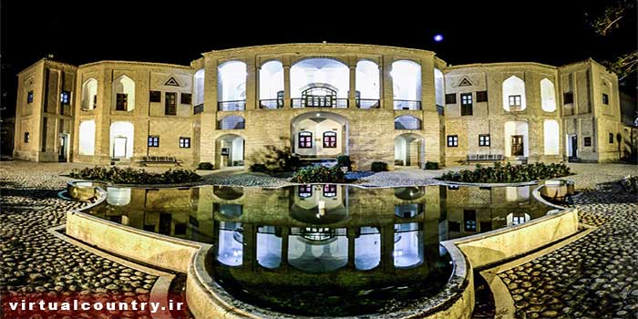 Akbarieh Garden and Edifice,iran tourism