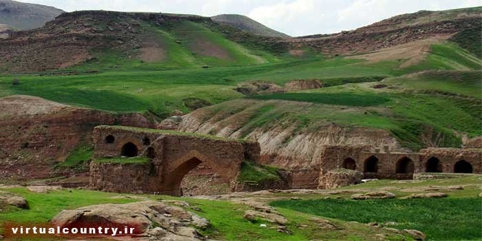 Gavmishan Bridge,iran tourism