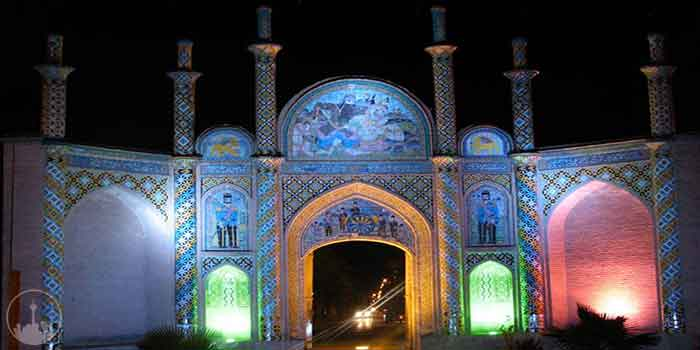 Arg Gate,iran tourism