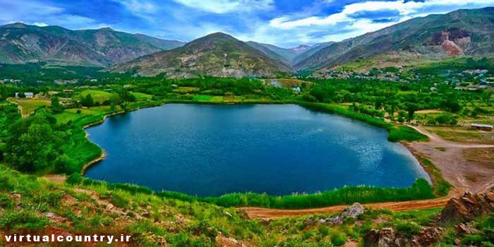 Avan Lake,iran tourism