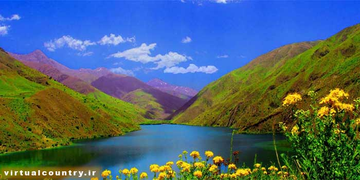 Gahar Lake,iran tourism