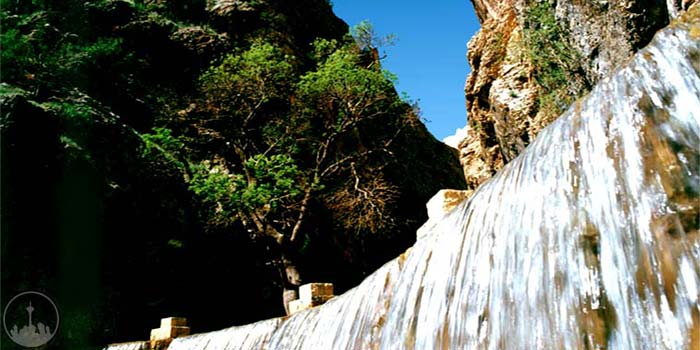 Yasooj Waterfall,iran tourism