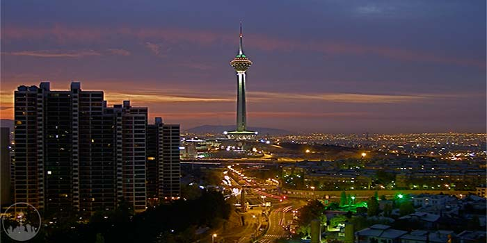 Milad Tower,iran tourism