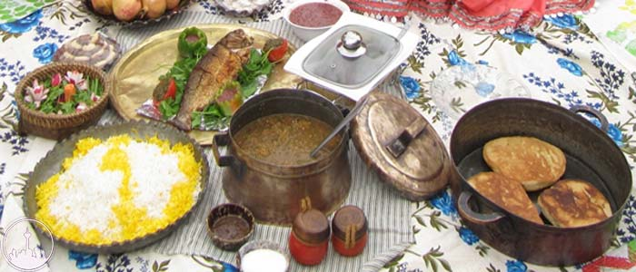 Local and Regional Foods,iran tourism