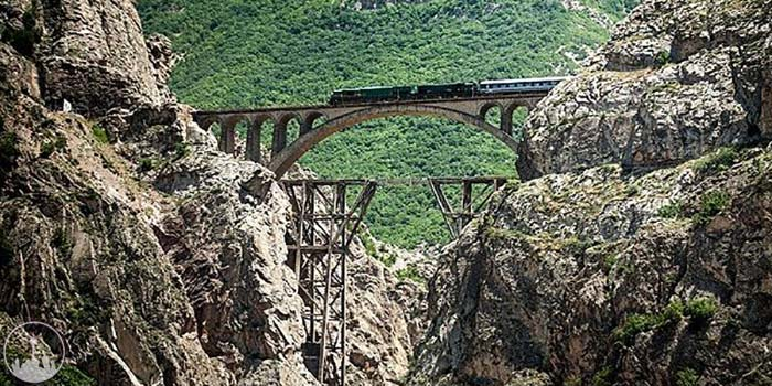 Veresk Bridge,iran tourism