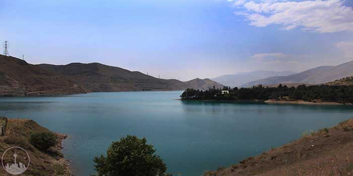 Latiyan Dam Lake,iran tourism