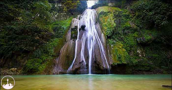 Loweh Waterfall,iran tourism