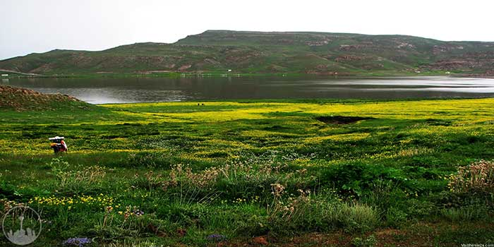 Neor Lake,iran tourism
